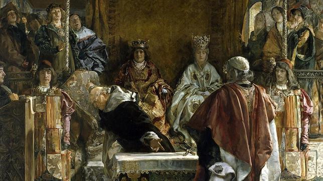 «Expulsión de los judíos de España», según el pintor Emilio Sala