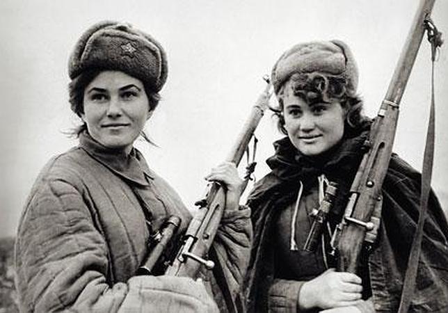 Los francotiradores soviéticos