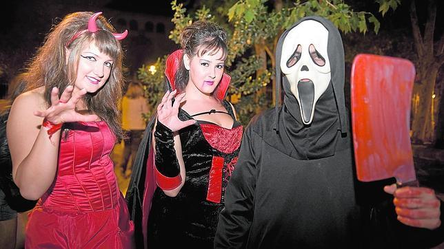 Los madrileños se disfrazan para celebrar Halloween