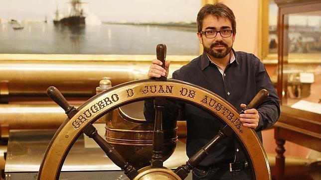 Jesús G. Calero «Un barco hundido es un libro que espera que lo abran»
