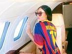 Neymar env�a un avi�n para traer a su novia
