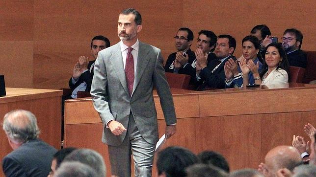 El Rey llama a «reindustrializar España para retener y atraer talento