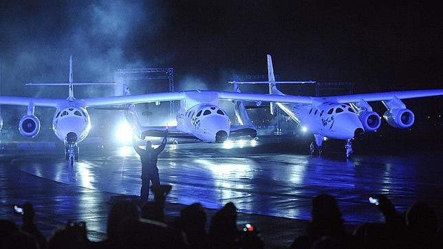 La nave de Virgin Galactic «SpaceShipTwo»