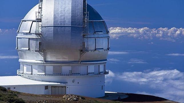 El Grantecan, el mayor telescopio óptico del mundo