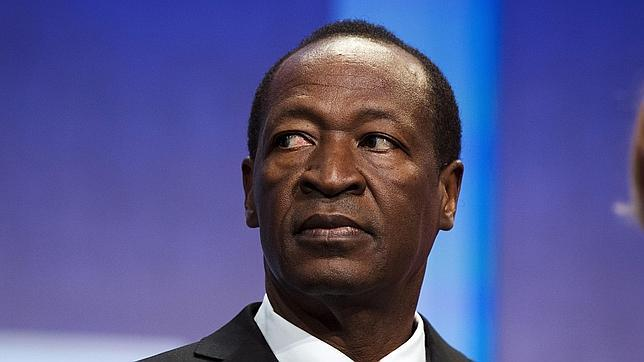 Blaise Compaoré, expresidente de Burkina Faso, en una imagen de archivo