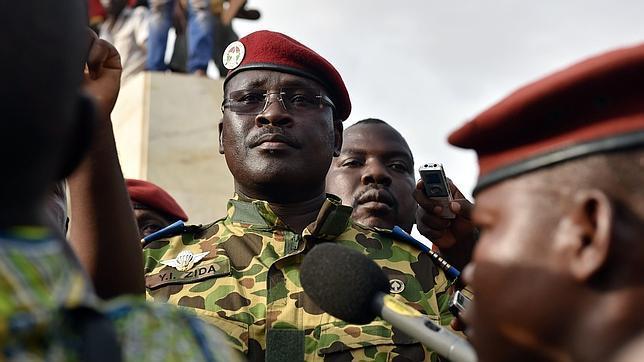 El teniente coronel Zida