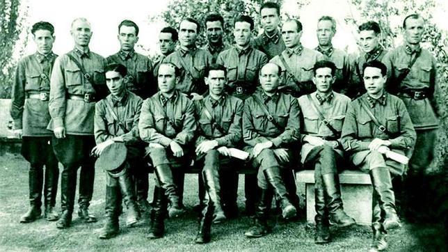 Los soldados españoles del Ejército Rojo
