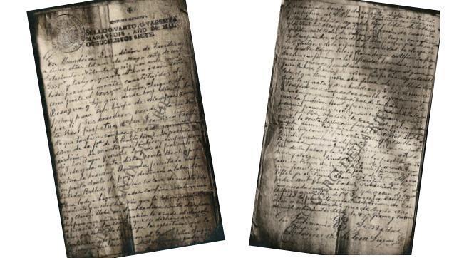El último legajo encontrado es una imagen de un documento cuyo contenido se conocía, pero del que se carecía físicamente. Es el acta notarial de la venta de una casa de un descendiente de Colón en 1796. La finca está a 200 metros de la que se considera la casa natal del descubridor en Poio (Pontevedra)