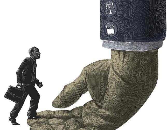 La corrupción constituyente