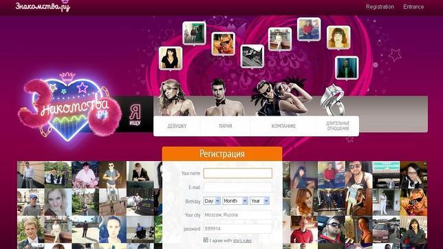 página web ruso sexo