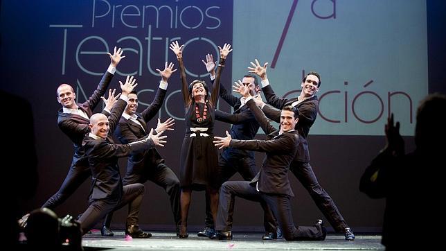 Concha Velasco, durante la gala de los premios del teatro musical