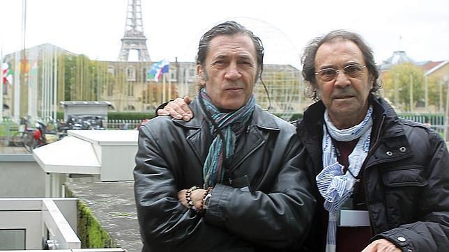 Jorge Pardo y Pepe Habichuela en París, donde presentaron «Flamenco universal»