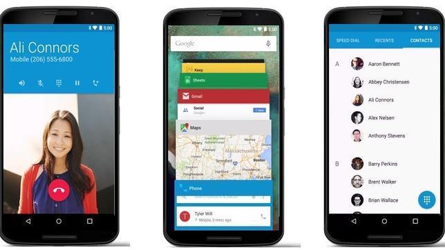 Las claves del nuevo Android 5.0 Lollipop