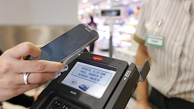 Imagen del dispositivo implantado por Mercadona en sus tiendas