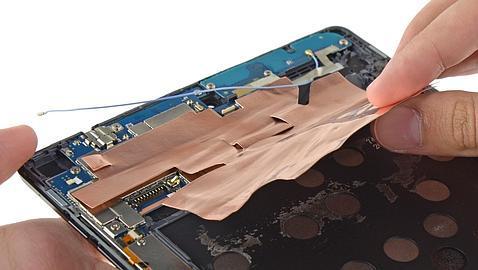 La Nexus 9, llena de pegamento y más difícil de reparar que sus predecesoras