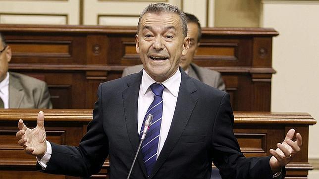 El presidente de Canarias, Paulino Rivero