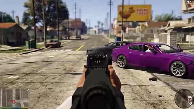 «Grand Theft Auto V» contará con un sorprendente modo en primera persona