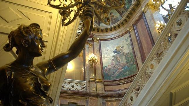 El interior del Palacio de Linares