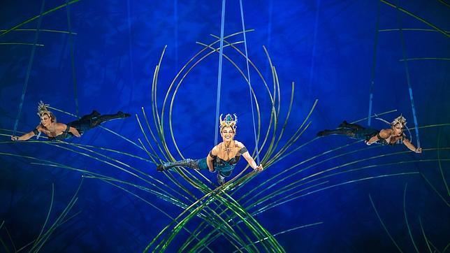 Una imagen de «Amaluna», el espectáculo del Circo del Sol que estará en Madrid el año próximo
