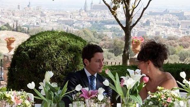 Una boda en el cigarral de las Mercedes, uno de los lugares más bellos de la ciudad