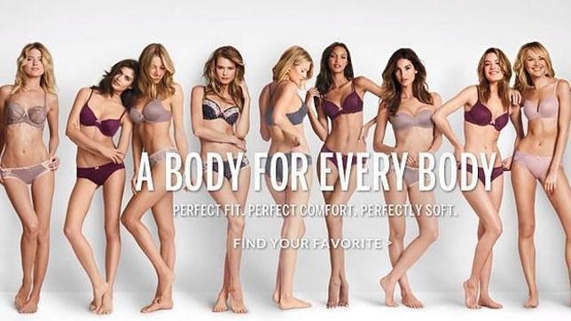 La firma de lencería ha cambiado el eslogan de su campaña de publicidad