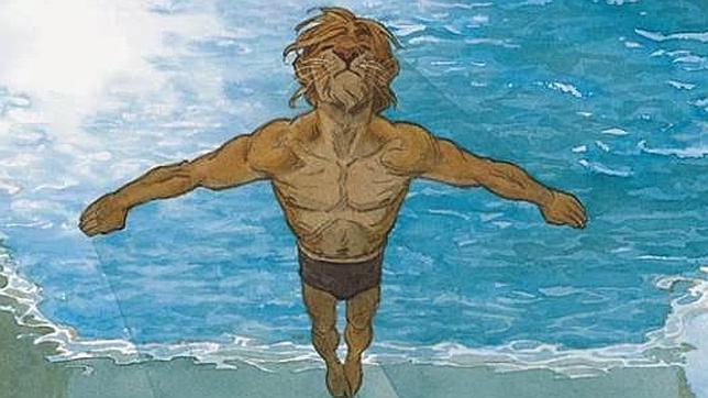 Viñeta de «Amarillo», de la serie «Blacksad», obra por la que sus autores han sido galardonados con el Premio Nacional del Cómic