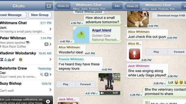 Las mejores aplicaciones de mensajería instantánea