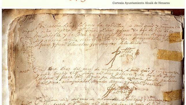 Arriba, la partida de Alcalá de Henares y, debajo, la de Alcázar