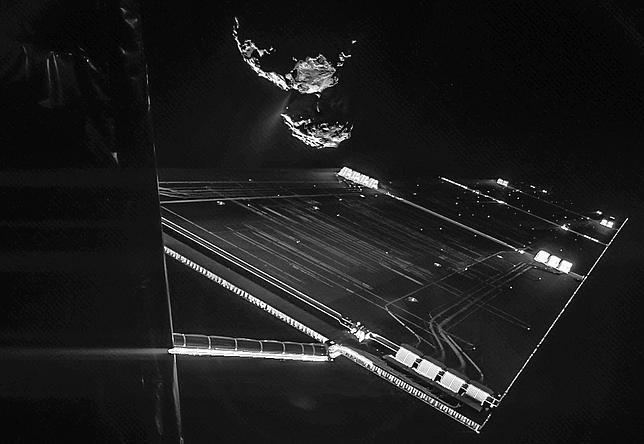 Philae rebotó y aterrizó tres veces en el cometa