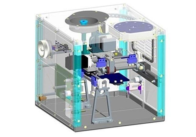 Imagen de la impresora que llegará al espacio