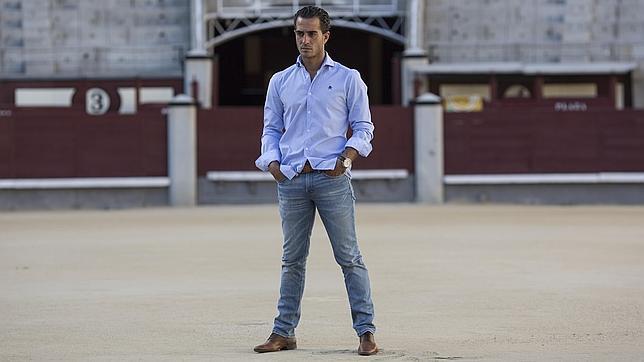 Iván Fandiño, en el ruedo de Las Ventas