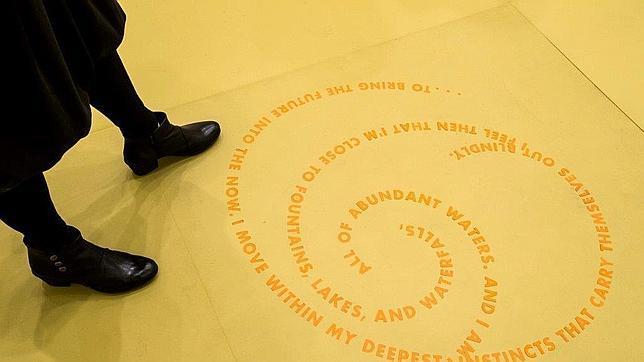 «Rings of Lispector», obra de Roni Horn basada en la obra de la escritora Clarice Lispector