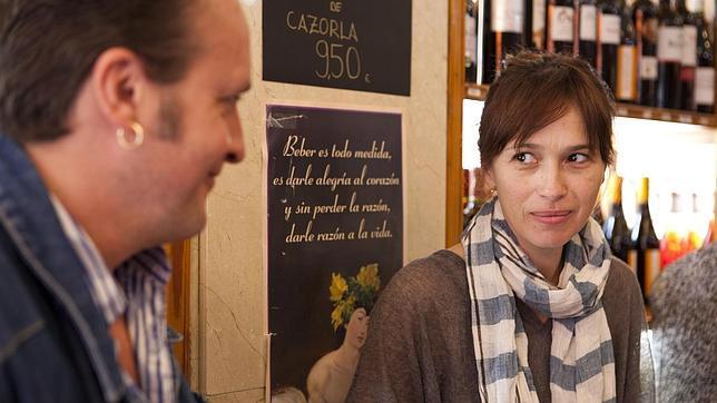 El actor Fernando Cayo y la actriz Ariadna Gil