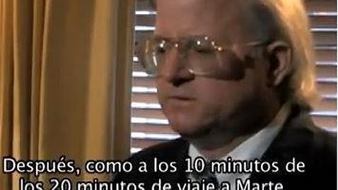 El hombre que fue teletransportado a Marte
