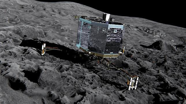 Philae agota sus baterías, pero logra enviar valiosos datos científicos