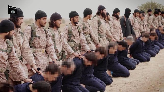 Un estudiante de medicina galés y dos franceses, entre los matarifes que decapitaron a 18 soldados sirios