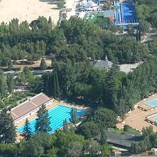 Moncloa aravaca una nueva piscina para el polideportivo for Piscina municipal casa de campo