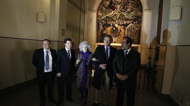 La última visita de la duquesa de Alba a Toledo