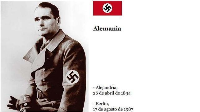 Rudolf Hess, el segundo de Hitler, huyó al Reino Unido en plena guerra