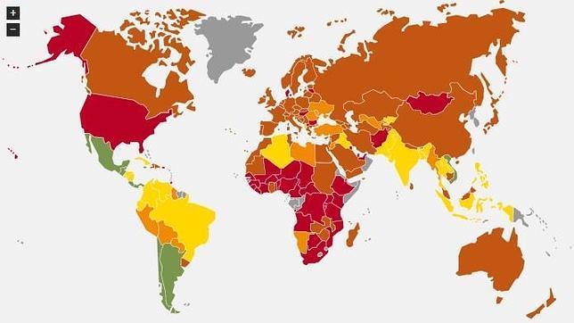 Y el país más feliz del mundo es....