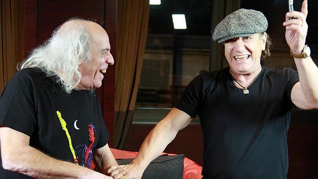 El Pirata, tras su entrevista con AC/DC: «Parecía que Angus y Brian eran amigos míos de toda la vida»
