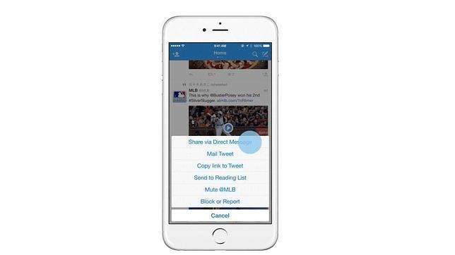 Twitter simplifica el envío de «tuits» públicos a través de mensajes directos