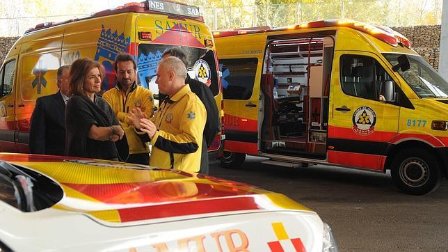 Las nuevas ambulancias «último modelo» del Samur de Madrid