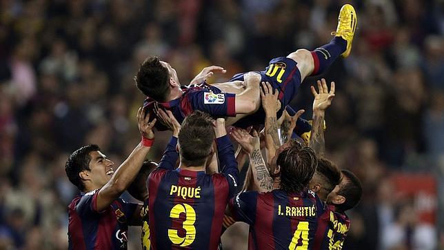 Messi, más leyenda que Zarra