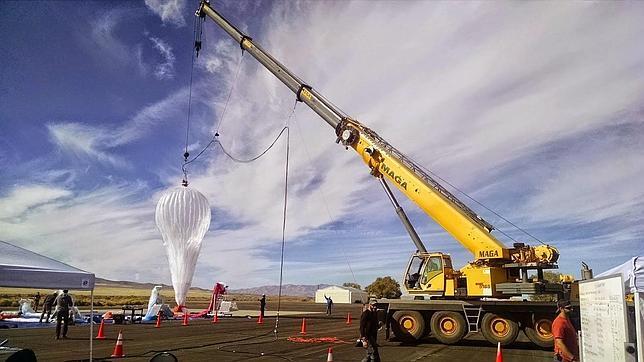 Los globos aerostáticos de Google se perfecccionan