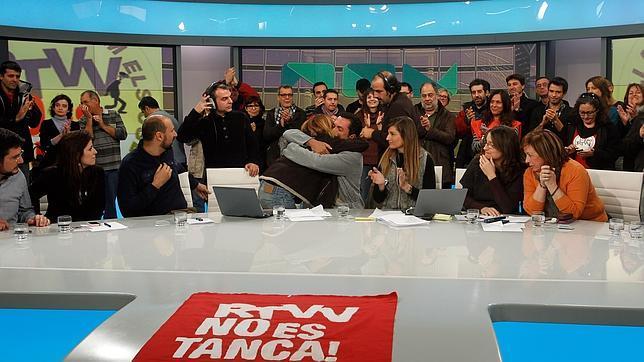 El cierre de RTVV cumple un año con dos nuevas televisiones públicas en el aire