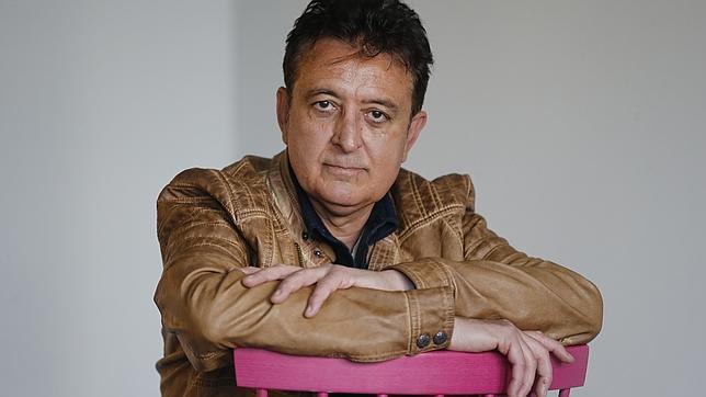 Manolo García, durante la entrevista