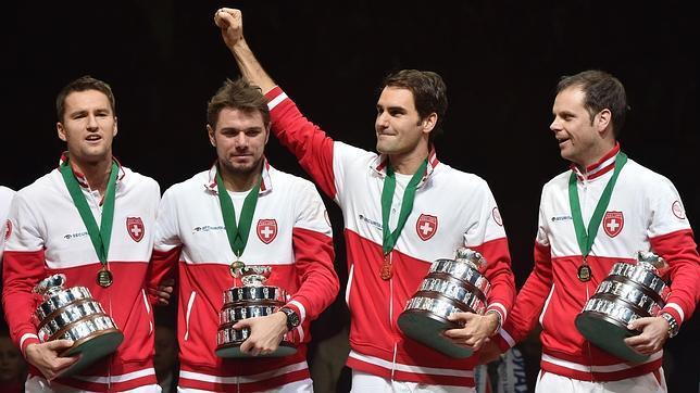 Federer consigue su Copa Davis