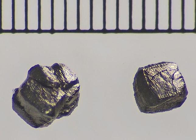 Los raros diamantes llegados en un meteorito