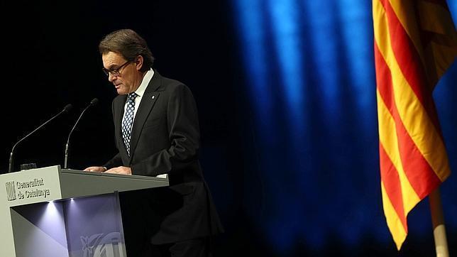 Artur Mas, presidente de la Generalitat y líder Convergencia